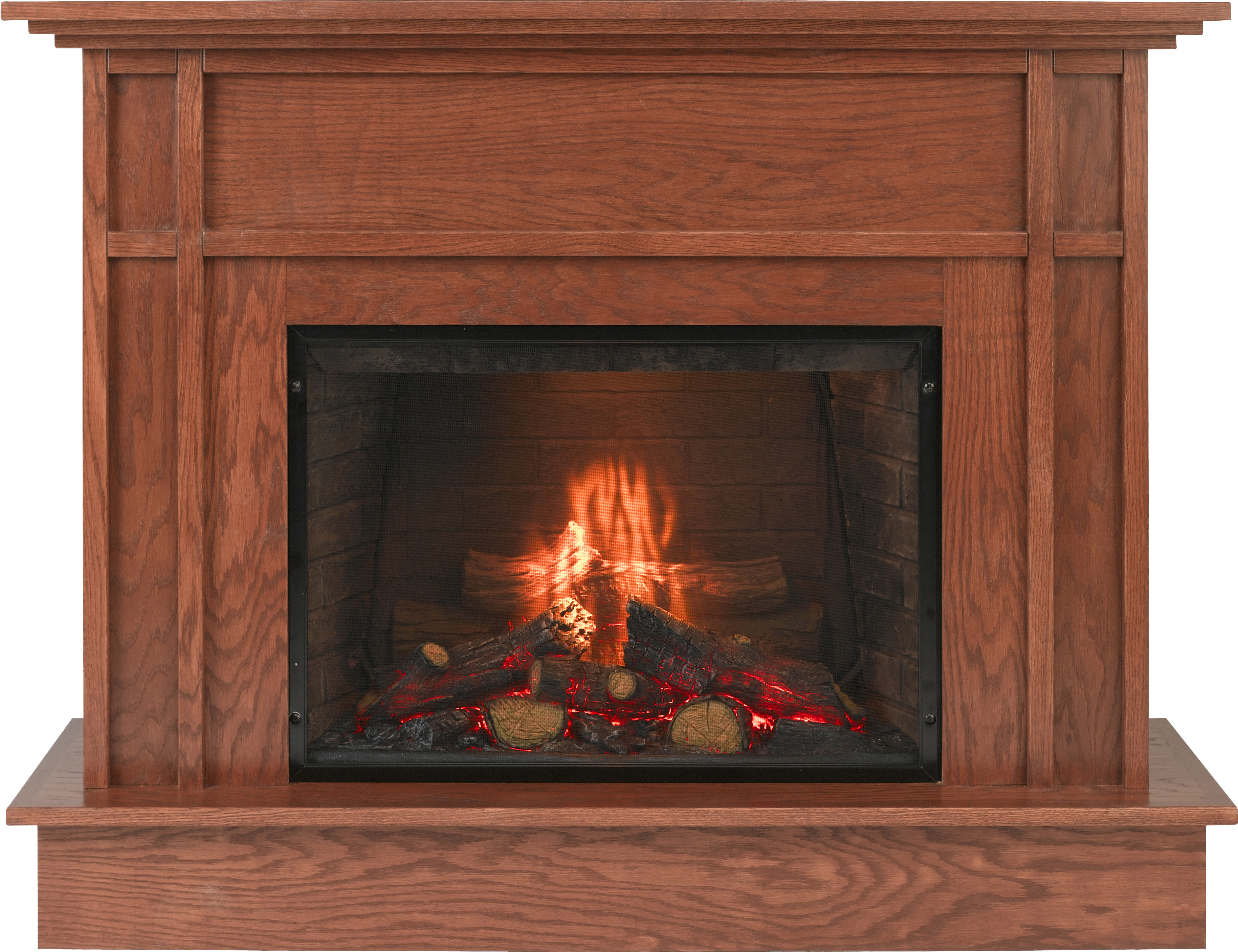 tile corner gas fireplace more madrona freestanding